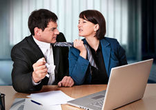 Business-rivalry 2 Royalty Free Stock Photos