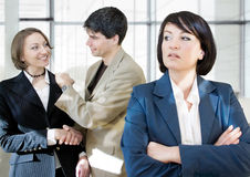 Business rivalry Royalty Free Stock Photo