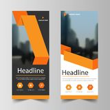 Business Roll Up Banner flat design template ,Abstract Geometric banner template Vector illustration set, abstract presentation royalty free illustration