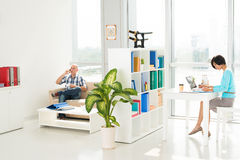 Business room Stock Images