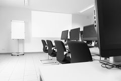 Business Room with Computer Stock Image