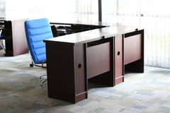 Business room. Table and chair in business office Stock Photography