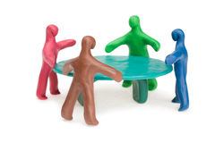 Business Round Table royalty free stock images