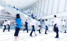 Business Rush Hour Commuter Forward Concept Royalty Free Stock Photo