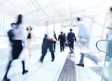 Business rush hour in Hong Kong Royalty Free Stock Image