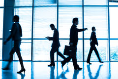 Business in a rush hour Stock Images