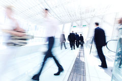 Business Rush Hour Scene Indoor royalty free stock images