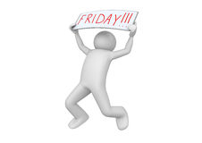 Business - It's FRIDAY! Royalty Free Stock Image