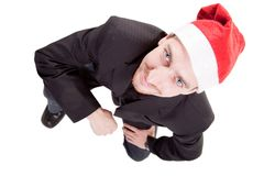 Business santa claus Stock Images