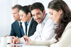 Business satisfaction Stock Photography