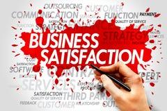 Business satisfaction Stock Photo