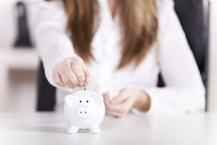 Business savings Royalty Free Stock Photo