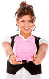 Business savings Royalty Free Stock Image