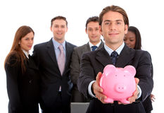 Business savings Stock Images