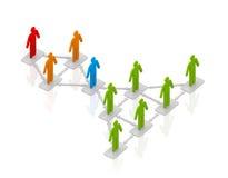 Business scheme Stock Photo
