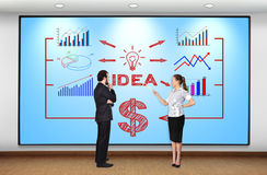 Business scheme Royalty Free Stock Image