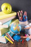 Business or school accessories Royalty Free Stock Image