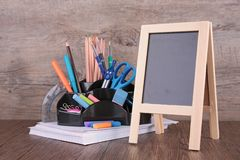 Business or school accessories Royalty Free Stock Photos