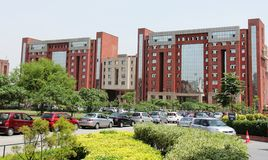 Business school Amity University, Noida Stock Image