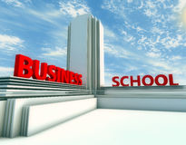 Business school Stock Image