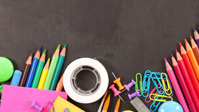 Business or school supplies Stock Photo