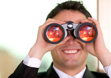 Business search Stock Photography