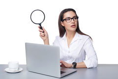 Business search concept. Royalty Free Stock Photography