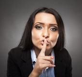 Business secrecy concept Royalty Free Stock Photo