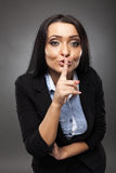 Business secrecy concept Royalty Free Stock Images