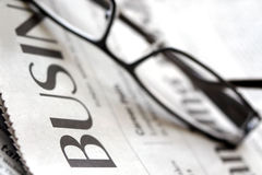 Business Section Stock Photography