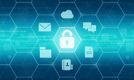 Business security data background concept Stock Images