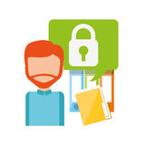 Business security design Royalty Free Stock Images