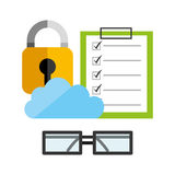 Business security design Stock Photography