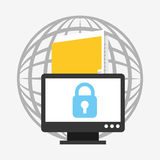 Business security design Royalty Free Stock Photography