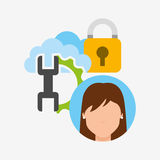 Business security design Stock Image