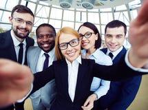 Business selfie Stock Image