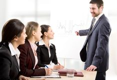 Business seminar Stock Image