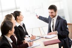 Business seminar royalty free stock image