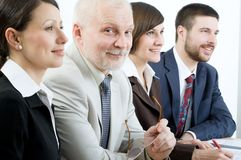 Business seminar Stock Image