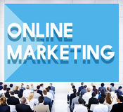 Business Seminar Conference Online Marketing Concept. Business People Seminar Meeting Concept royalty free stock photo