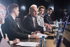 Business seminar or conference Royalty Free Stock Photo
