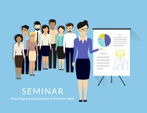 Business seminar Royalty Free Stock Photos