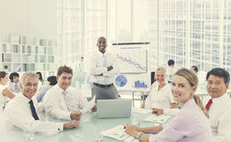 Business Seminar Meeting Conference Collaboration Concept Stock Image