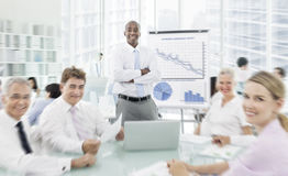 Business Seminar Meeting Conference Collaboration Concept Royalty Free Stock Images