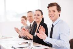 Business seminar. Royalty Free Stock Photo