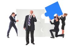 Business senior leadership concept stock images