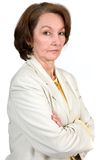 Business Senior Woman Royalty Free Stock Photography