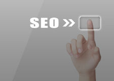Business SEO search Royalty Free Stock Photography
