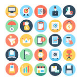 Business and SEO Vector Icons 3 Royalty Free Stock Photography