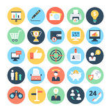 Business and SEO Vector Icons 1 Stock Photo